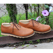 Sepatu Casual Pria cowok kerja jalan Boot formal~Jack Boston Brown (8848611) di Kota Bandung