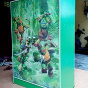 Lemari Pakaian Anak 2 Pintu Ninja Turtles Jasmine ALD 832 Hijau (8874887) di Kab. Sidoarjo