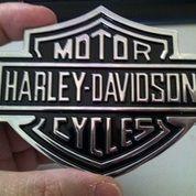 Emblem Metal Harley Logo. (8895117) di Kota Bogor