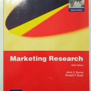 Marketing Research, Alvin C Burns, Ronald F. Bush, 6th Edition (8902593) di Kab. Ngawi