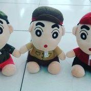 Boneka karakter anak kecil nakal & lucu tokoh serial film kartun jepang Sinchan 3 jenis pekerja tentara polisi pemadam kebakaran SNI (9043307) di Kota Jakarta Selatan