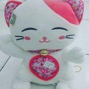Boneka karakter hewan kucing keberuntungan dg lonceng / cat hoki with bell khas chinese grade super ORI SNI NEW murmer (9064877) di Kota Jakarta Selatan