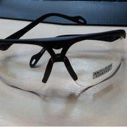Kacamata safety besgard,eyewear Clear Mirror anti fog coated