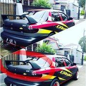 Aksesoris eksterior mobil sedan spoiler / sayap belakang / wings Mugen RR / gawang semua jenis mobil sedan / all type universal (9070791) di Kota Jakarta Selatan