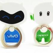 Iring I Ring I-Ring Cincin Stand Maskot Karakter Robot Vivo/Oppo Murah