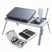 Meja Laptop Portable Murah E-Table Double Fan (9128905) di Kota Surabaya