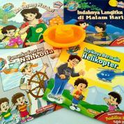 Buku Anak Bergambar (1 Paket Isi 4 Buku)
