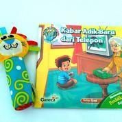 Buku Anak Bergambar Tema Profesi Dan Komunikasi