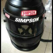 Helm full face merk simpson size 7 1/4 (M) (9226871) di Kota Malang