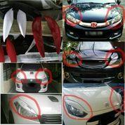 Aksesoris Eksterior variasi modifikasi mobil mata sipit / eye lid lampu sein 1 set kiri kanan aman cantik unik kece mewah elegant murah mudah pasang (9231259) di Kota Jakarta Selatan