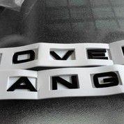 Emblem Black Range Rover Letters