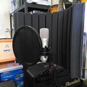 Paket Mic Condenser ISK AT 100 Dan Vocal Booth Murah Di Bandung (9482029) di Kota Bandung