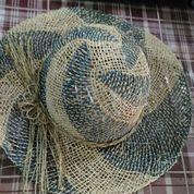 topi pandan anyam lurik (9485165) di Kab. Tasikmalaya