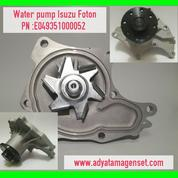Water pump genset isuzu foton