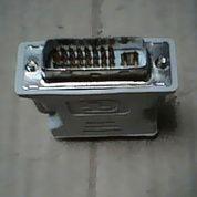 VGA F - DVI M Port Konektor