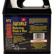 Duragloss Aquawax Waterless Wash N Wax #972 - 130ml Refill Bottle