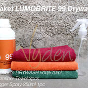 MURAH LUMOBRITE 99 DRYWASH CONCENTRATE WITH WAX | Waterless Wash | PAKET