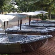 Perahu Dayung berkualitas cocok untuk tempat rekreasi