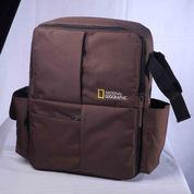 Tas Kamera DSLR Backpack Natgeo Coklat Kode CK