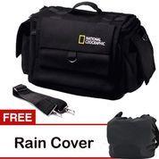 Universal Tas Kamera Slempang National Geographic Kode A Black