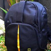 Tas Kamera National Geographic Model Ransel Mini Muat Laptop 12 Inch Free Rain Coat (9915873) di Kota Malang