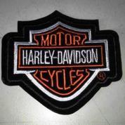 Bordir Harley Logo.(@10 Pcs) (11,7x10,7cm) (9916259) di Kota Bogor