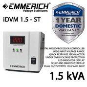 All New Stabilizer Listrik Emmerich IDVM 1,5 KVA - ST, 1 Phase (9922597) di Kota Jakarta Barat