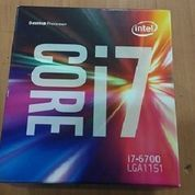 Intel Core I7 6700 LGA 1151 6th Generation Skylake