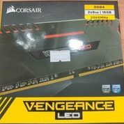 Corsair Vengeance LED RED DDR4 CMU16GX4M2A2666C16R(2x8GB)