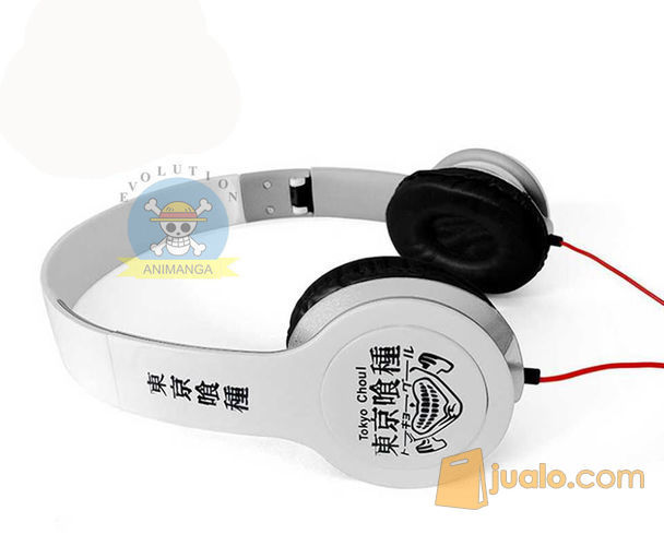 Headphone Kaneki Ken Putih (10001597) di Kota Bandung