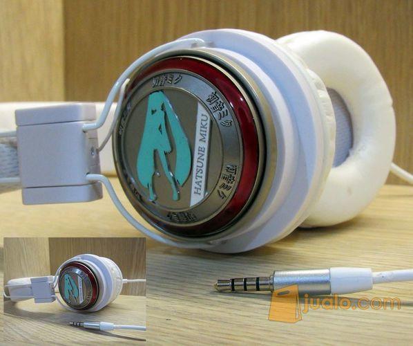 HeadPhone Vocaloid Hatsune Miku (10001637) di Kota Bandung