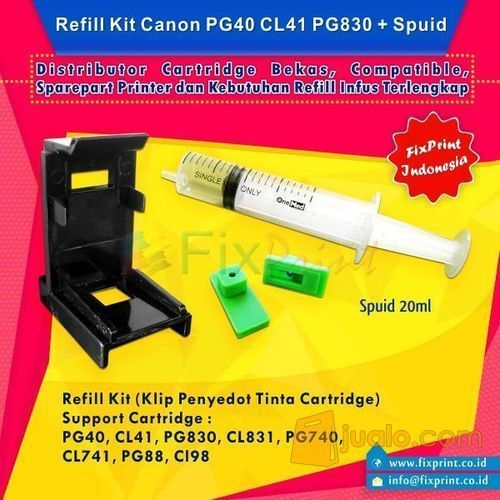 Tool Kit Refill Cartridge Canon PG830 CL831 (10036167) di Kota Surabaya