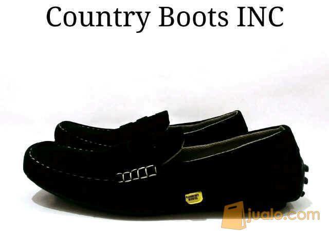 Country boot slip on mode gaya pria 10037423