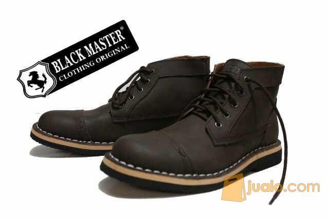 Black Master Zara Boot Black Brown (10038087) di Kota Bandung