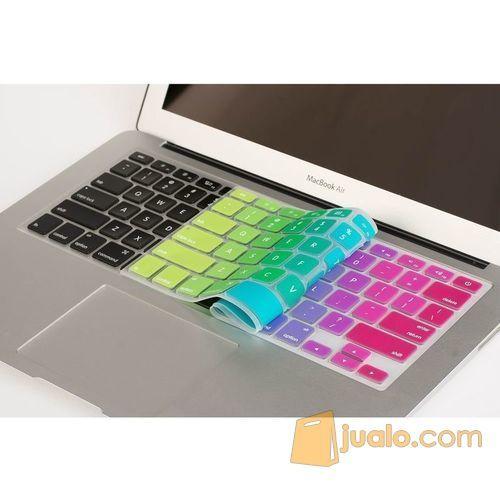 Skin Mac book Air 15 inch motif pelangi warna warni Apple Keyboard (10078955) di Kota Jakarta Barat