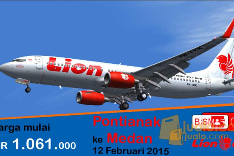 Tiket Pesawat Pontianak Medan Surabaya Jualo