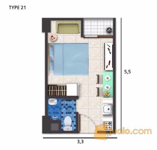 Apartemen Cimanggis city (10253179) di Kota Depok