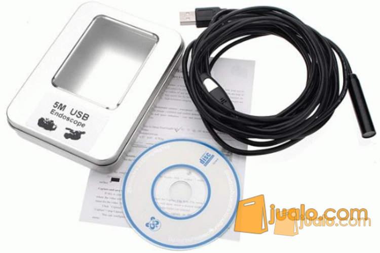 Kamera Inspeksi, kamera Kabel Endoscope (5m) tahan air (1043708) di Kota Jakarta Pusat