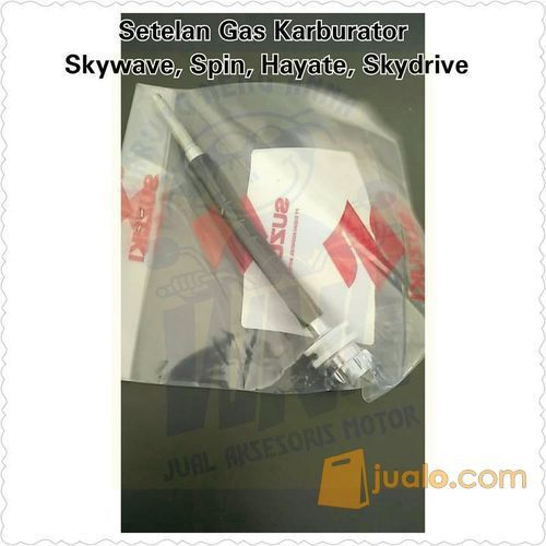 Setelan Gas Karburator Skywave, hayate, spin, skydrive (10459799) di Kota Jakarta Barat