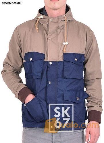 Jaket parka jaket pr mode gaya pria 10465689