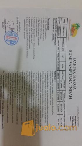 Peruamahan DP murah Bumi Sampurna indah Cikarang,Bekasi (10505025) di Kab. Bekasi