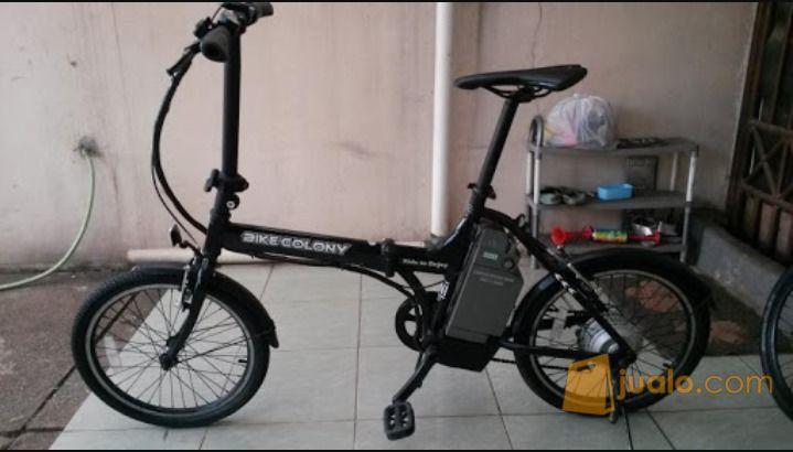 "sepeda listrik lipat bikecolony 20"" | Jakarta Barat | Jualo"
