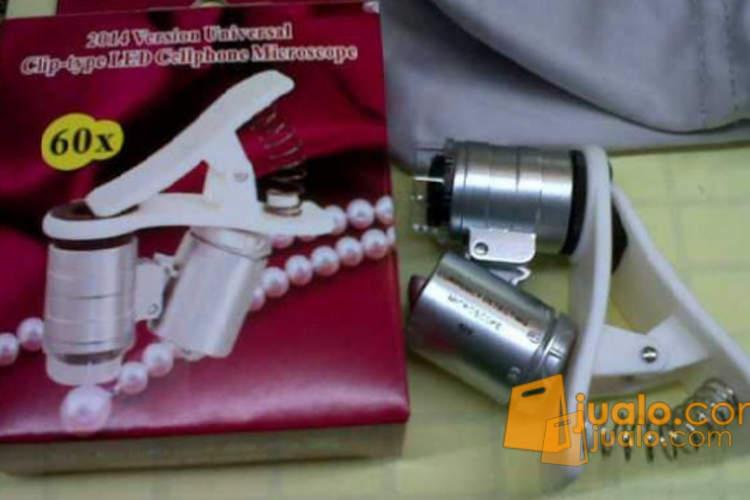 Mikroskop batu cincin mini jepit handphone 60x (1062309) di Kota Jakarta Pusat