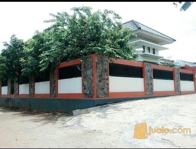 Rumah Second 2 lantai mewah dan luas, posisi hook/sudut, di Kodau Jatimekar Jatiasih Bekasi ,Harga Rp. 3,6 Milyar ( Nego