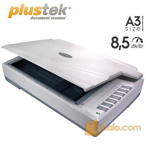 Scanner Plustek OpticPro A320L - A3+ (9 Lembar/Menit) (10637541) di Kota Jakarta Pusat
