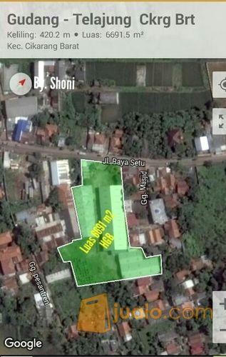 GUDANG 6691 m2 - CIBITUNG (10822489) di Kab. Bekasi