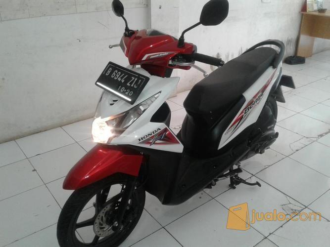 Motor Honda Beat Fi Sporty Iss 2015 Merah Putih Depok Jualo