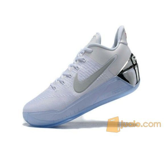Sepatu Basket Nike Kobe Ad White Silver Batam Jualo