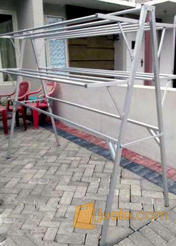 Jemuran Aluminium Sayap Jumbo 2 Meter Kab Sidoarjo Jualo