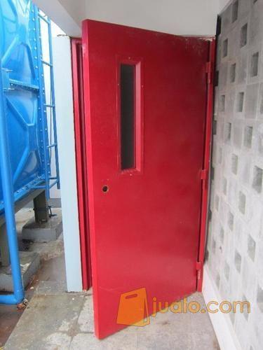 Pintu Besi Tangga Darurat, Pabrik Pintu Besi Tahan Api ...